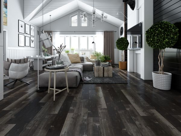 Spacious room flooring