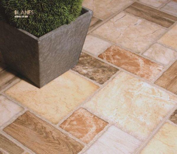 Ceramic tiles for exterior use