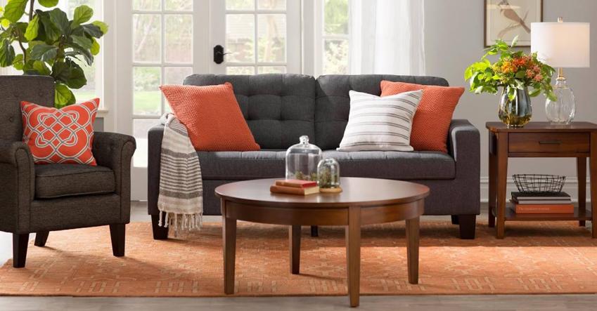 Lavish living room interior