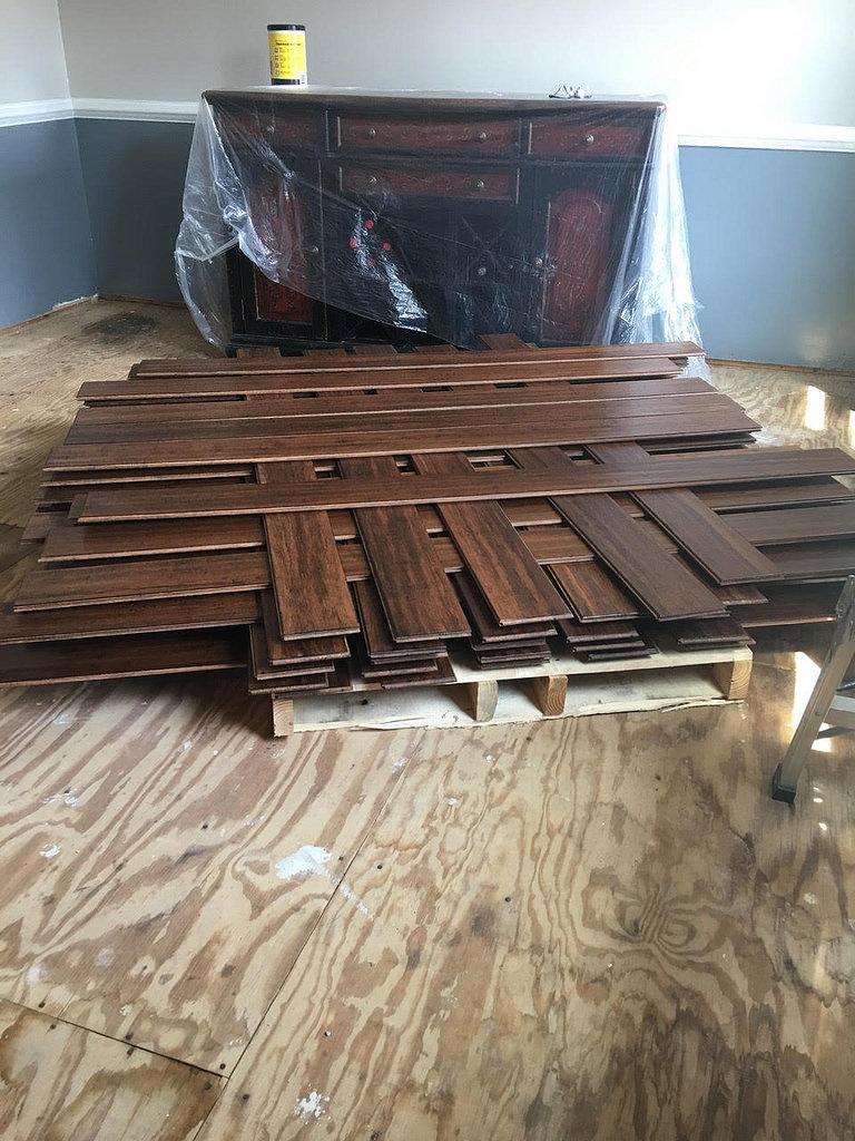 acclimating hardwood flooring before installation