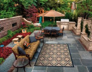 Outdoor rug design