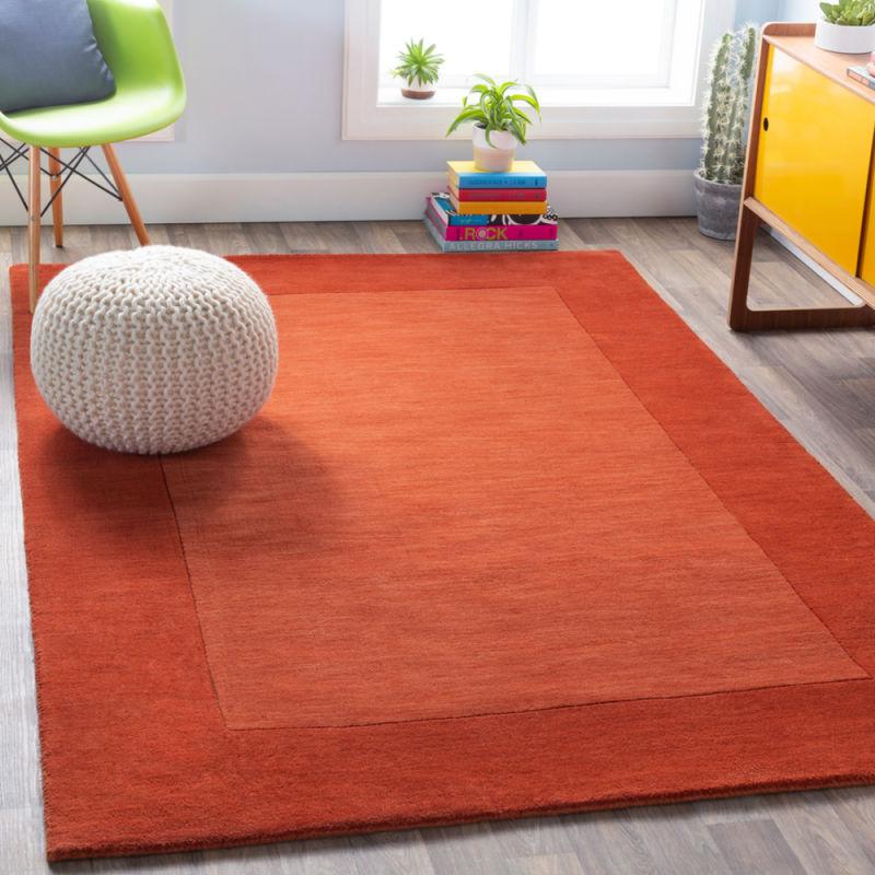 Fiesta area rug in room