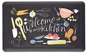 welcome to my kitchen anti slip mat