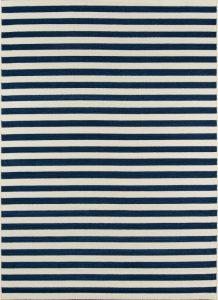 momeni baja navy stripe rug