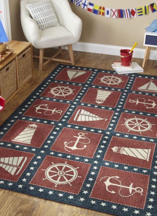 Mohawk Prismatic Coastal Americana rug
