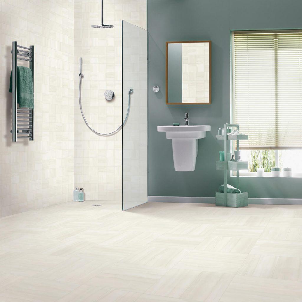 tile used in bathroom