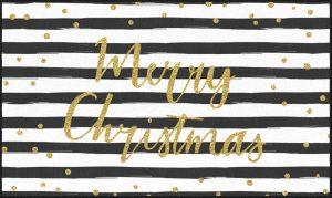 Mohawk Prismatic Christmas Stripe rug