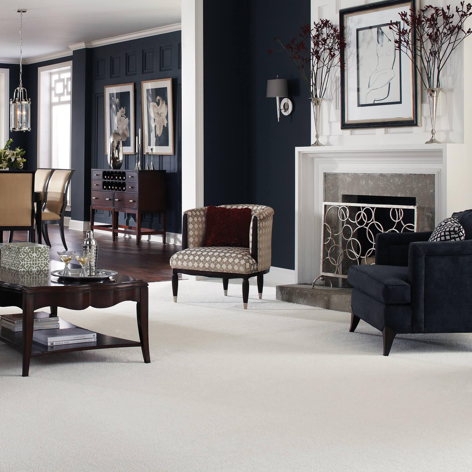 White carpet | Dolphin Carpet & Tile