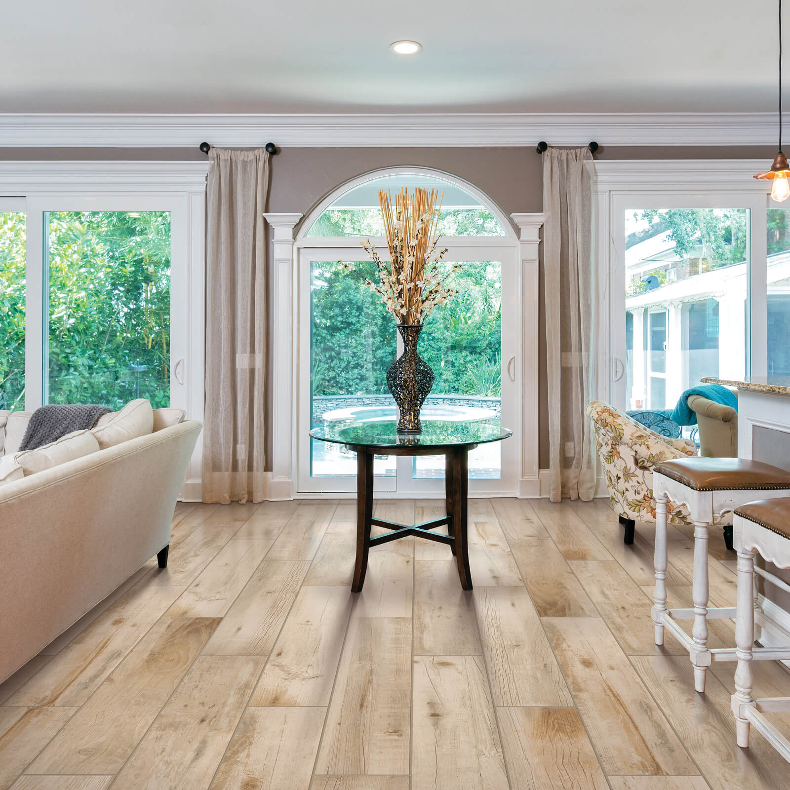 Bryson Valley Whiskey Barrel flooring | Dolphin Carpet & Tile