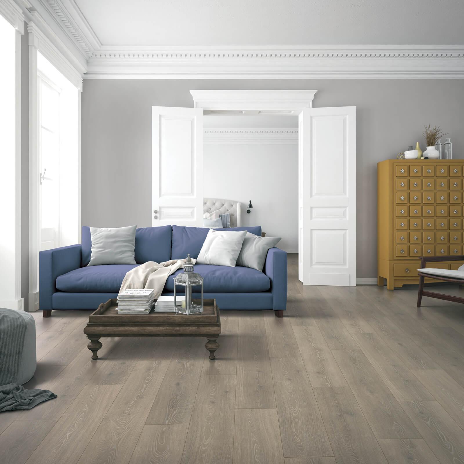 Blue sofa for living room | Dolphin Carpet & Tile