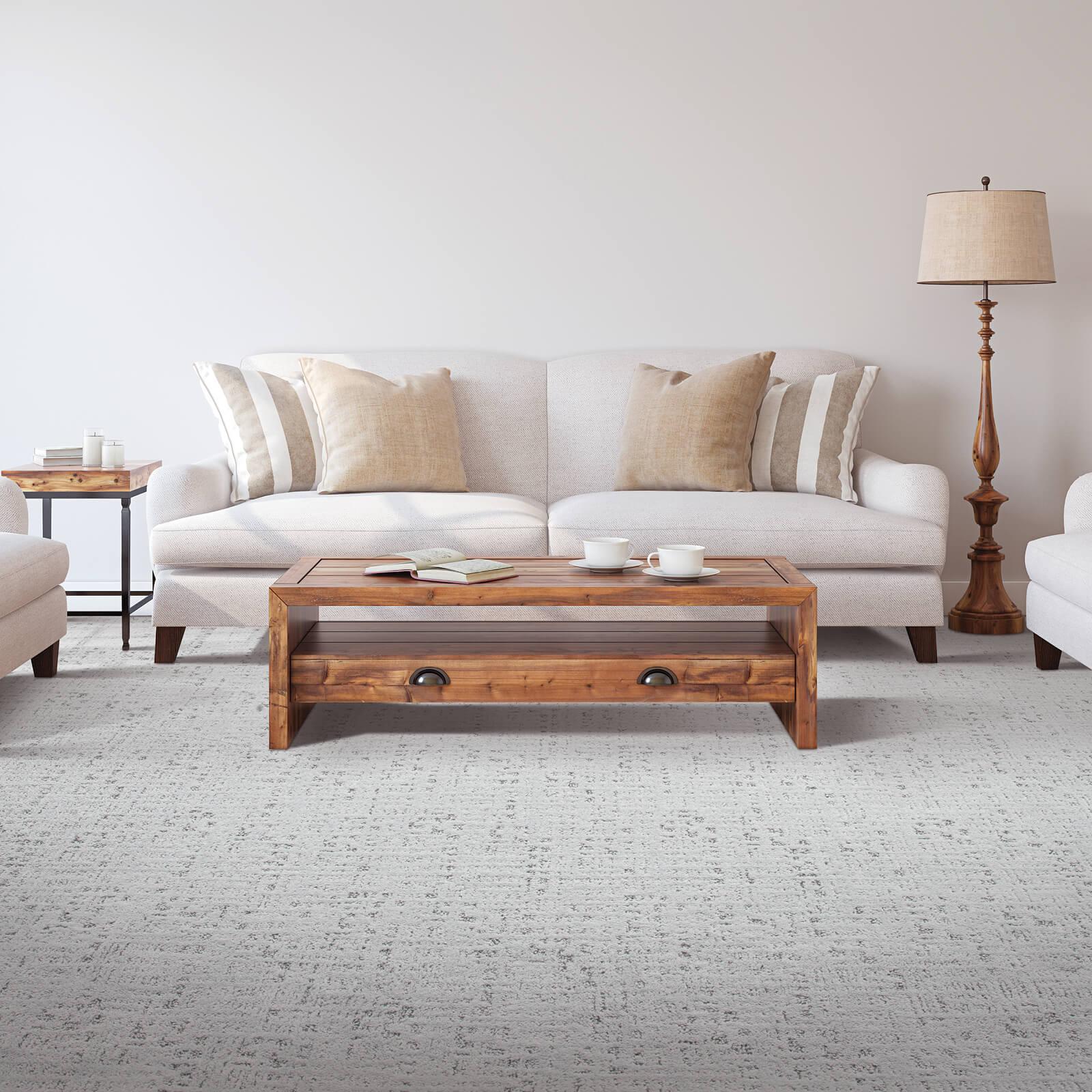 Living room carpet flooring | Dolphin Carpet & Tile