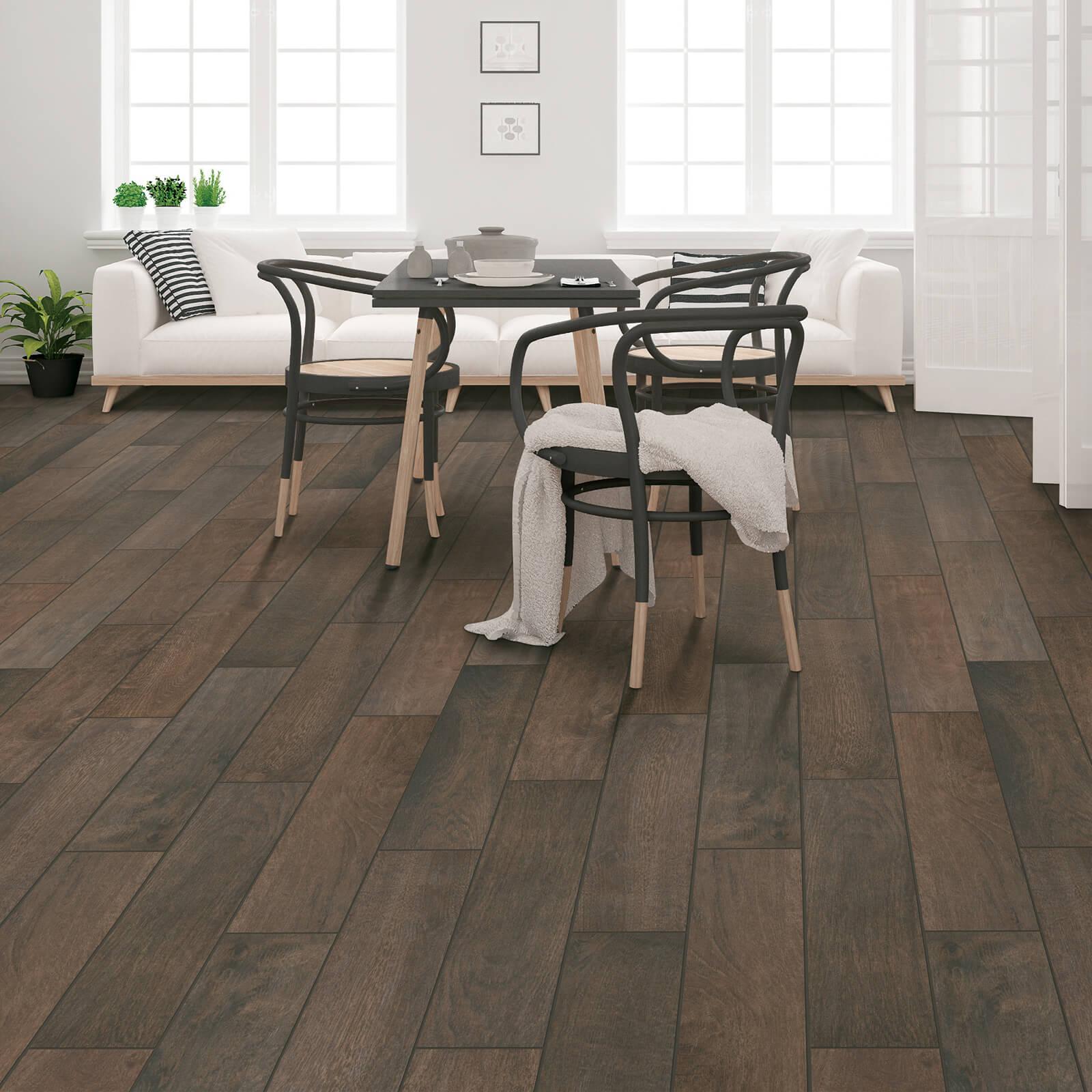 Madison Creek Hazelnut Spice flooring | Dolphin Carpet & Tile