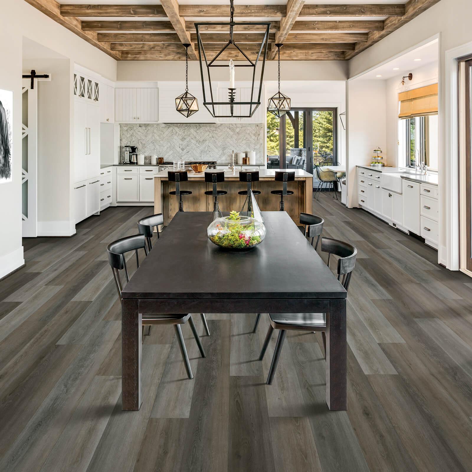 Dining room flooring | Dolphin Carpet & Tile