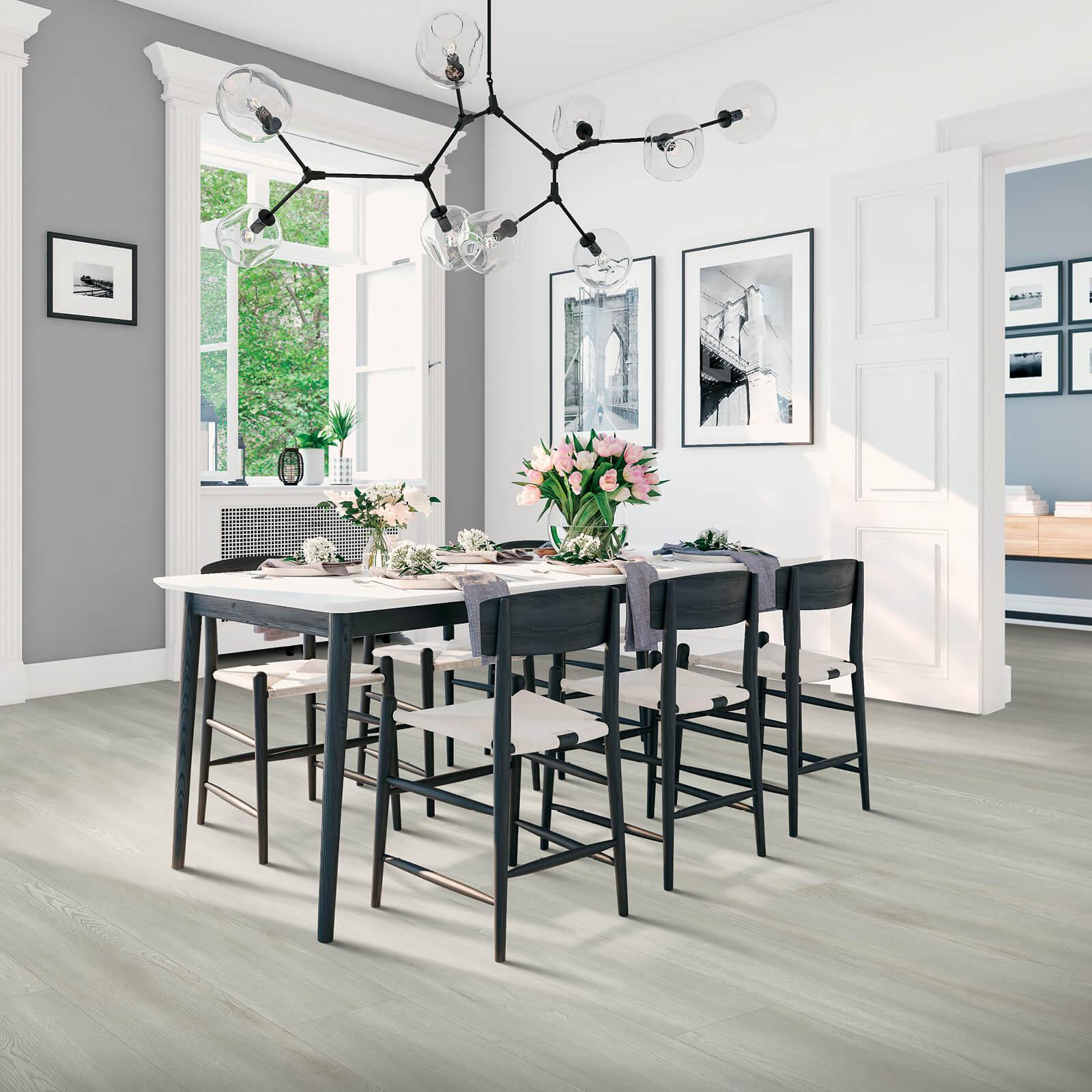 Dining room interior | Dolphin Carpet & Tile