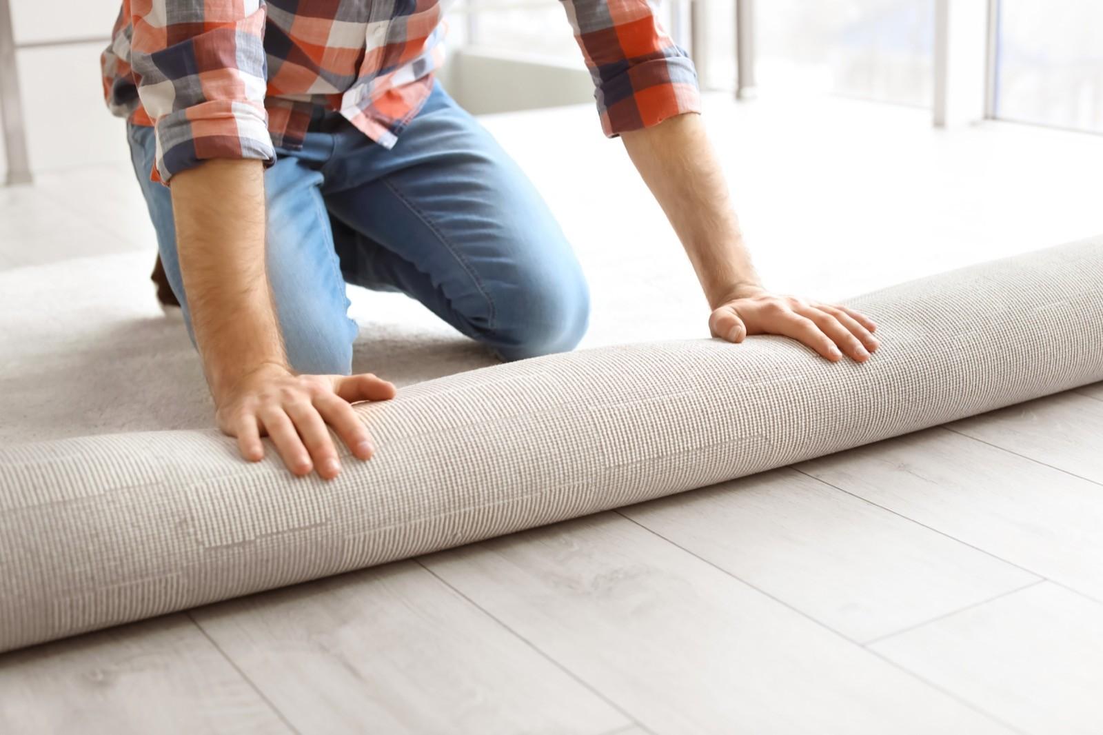 carpet installation | Dolphin Carpet & Tile