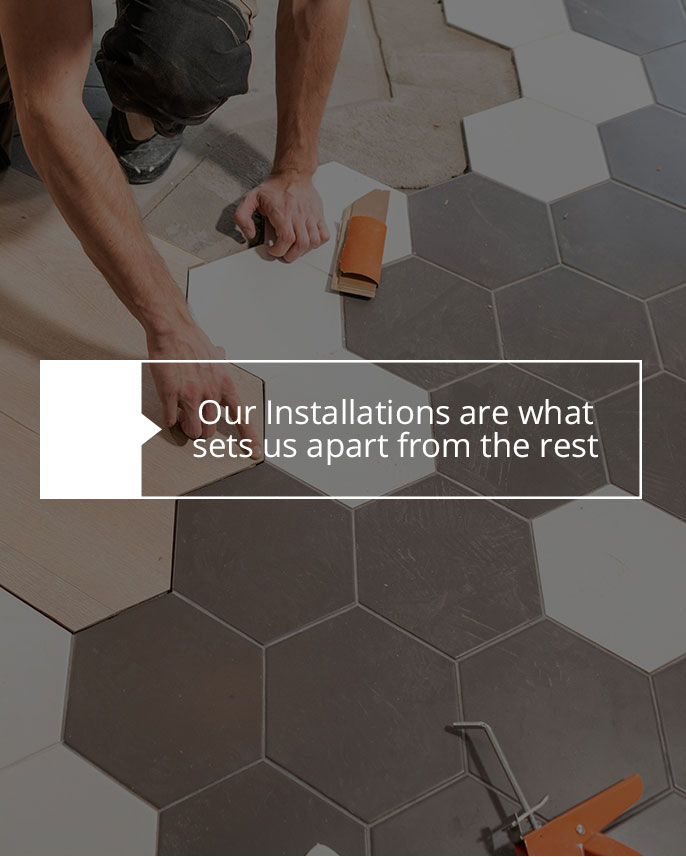 Installation service | Dolphin Carpet & Tile