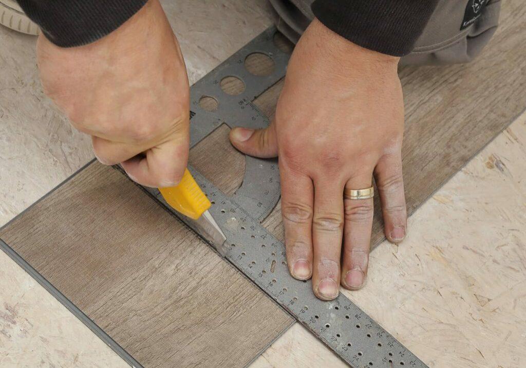 Luxury Vinyl Flooring Installation   Dolphin Carpet & Tile