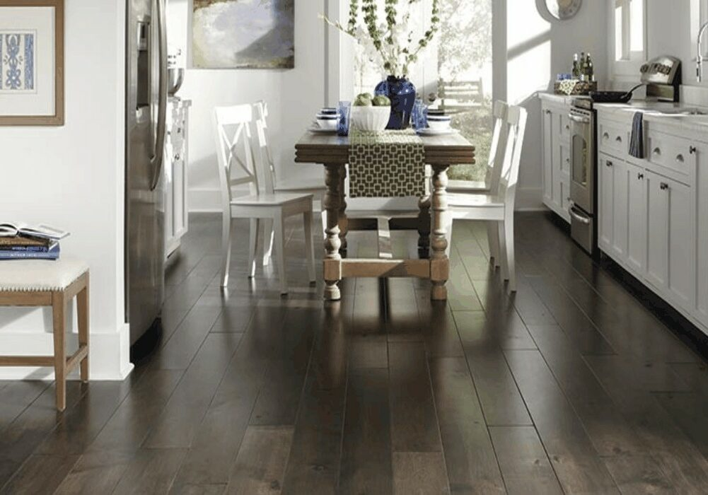 dark laminate flooring   Dolphin Carpet & Tile
