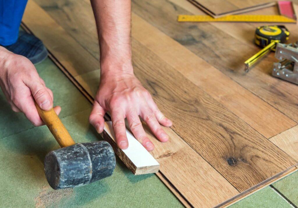 Laminate Flooring Installation   Dolphin Carpet & Tile