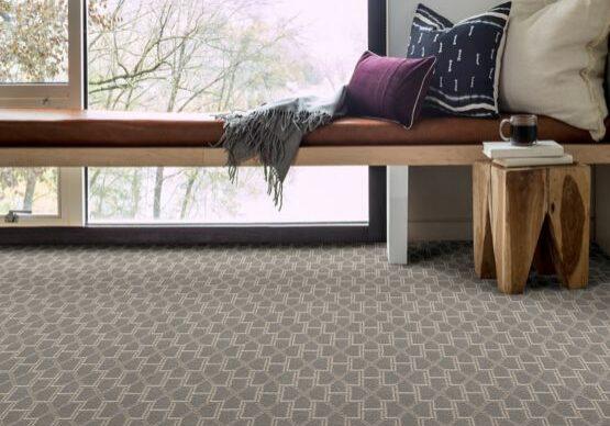 anderson tuftex carpet pillows on bench   Dolphin Carpet & Tile